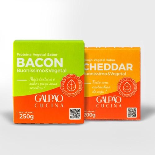 Kit Bacon + Cheddar - 1 Unid Cada